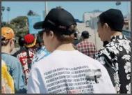 BTSの原爆Tシャツ